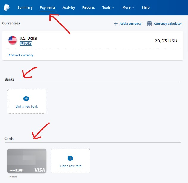 how to verify paypal account with debit card