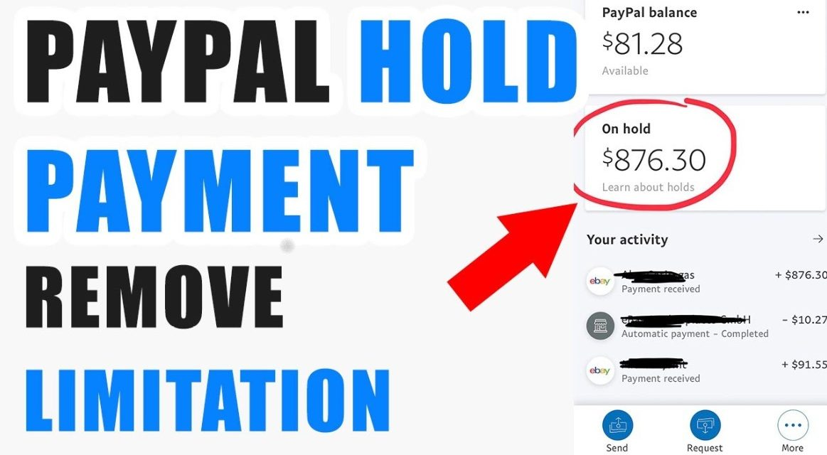 PAYPAL PAYMENT ON HOLD Paypal payment pending easy fix 2021, Get PayPal release funds trick in 5min